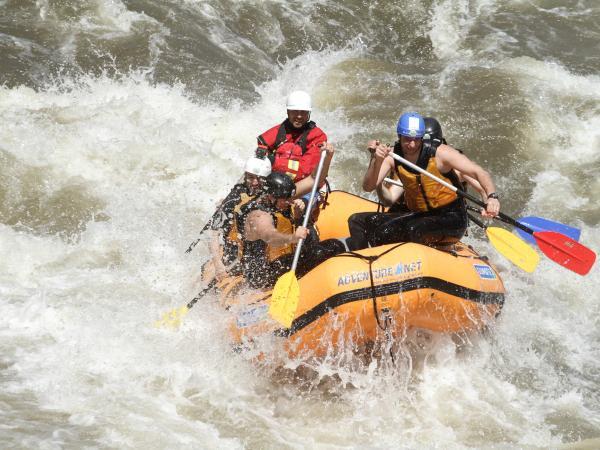 Rafting on Struma