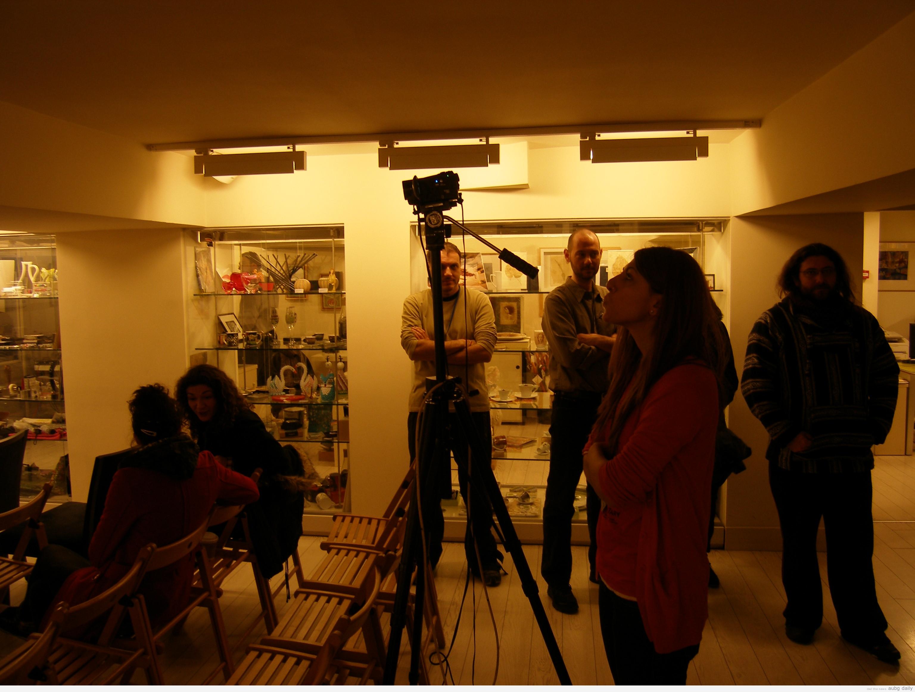 Documentary club at Thessaloniki Film Festival | AUBG Daily