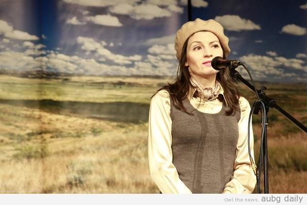 Lilly Drumeva O'Reilly. Rumina Mateva for AUBG Daily
