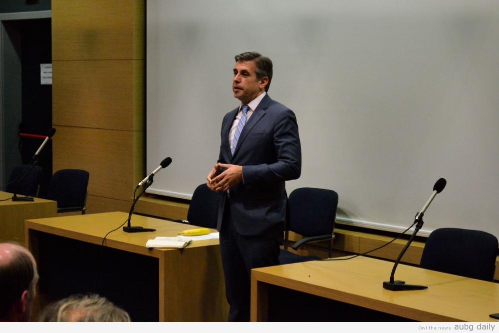 Stratsi Kulinski: The Student and The President