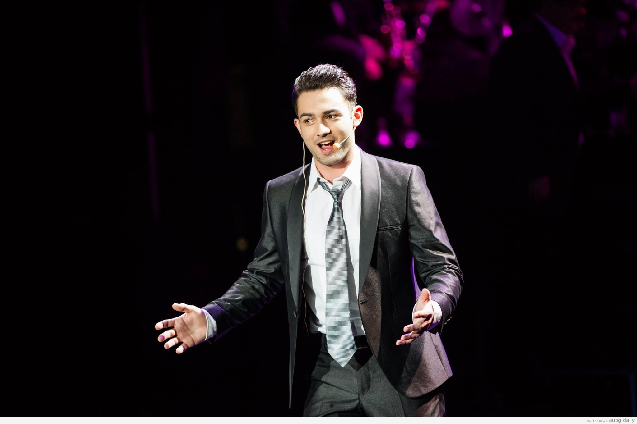 Brian Shkodrani. Photo: AUBG Musicals