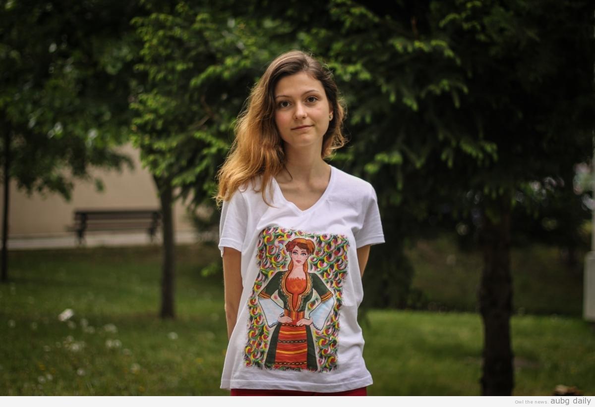 Hristina Balabanova, Dimitar Bratovanov for AUBG Daily