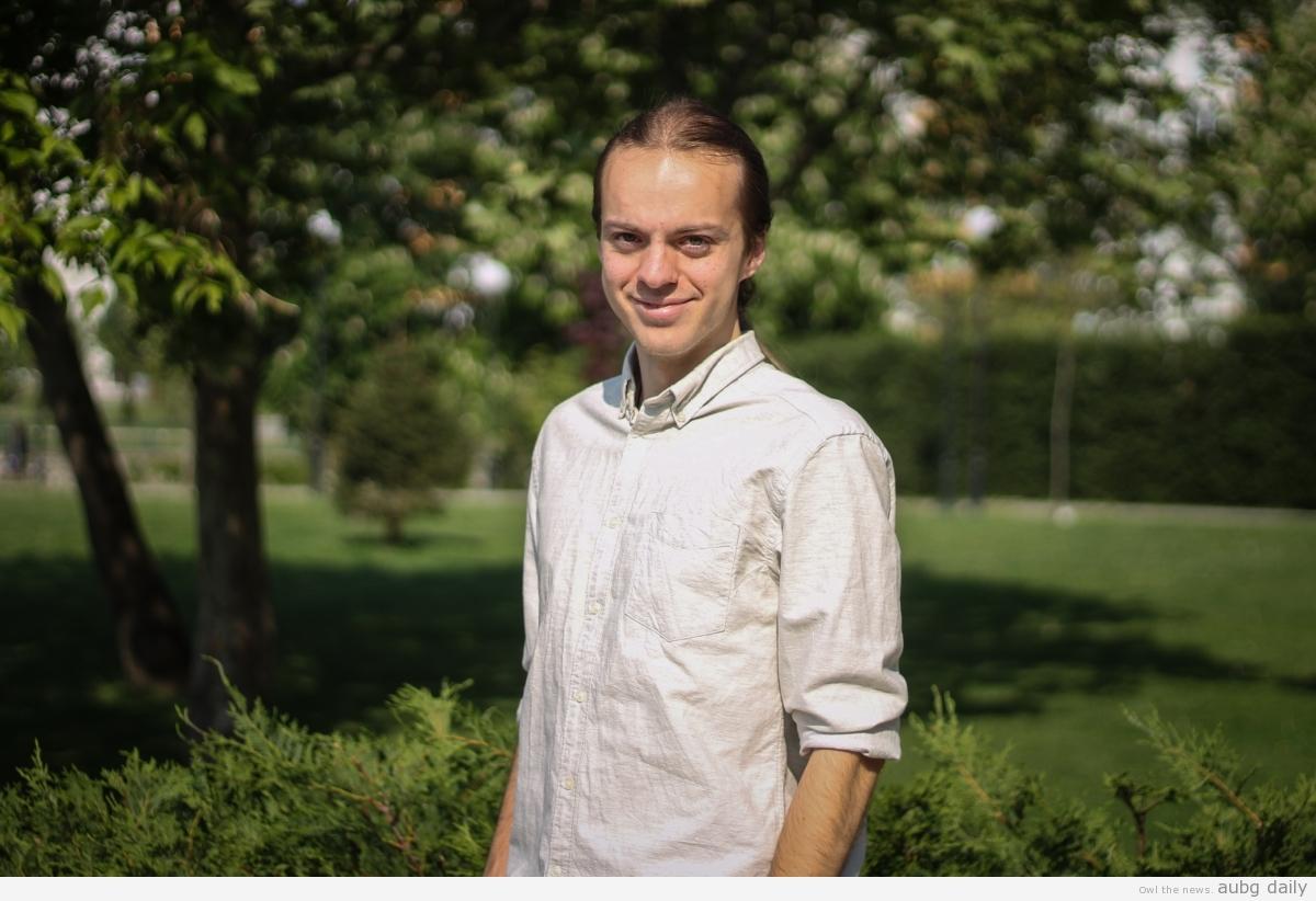 Edouard Sullivan, Dimitar Bratovanov for AUBG Daily