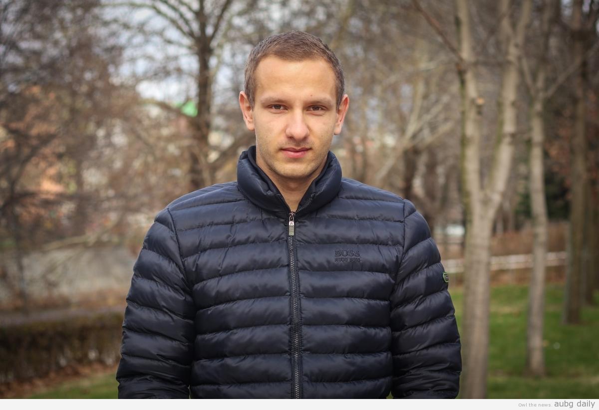 Aleksandar Bratanov, Dimitar Bratovanov for AUBG Daily