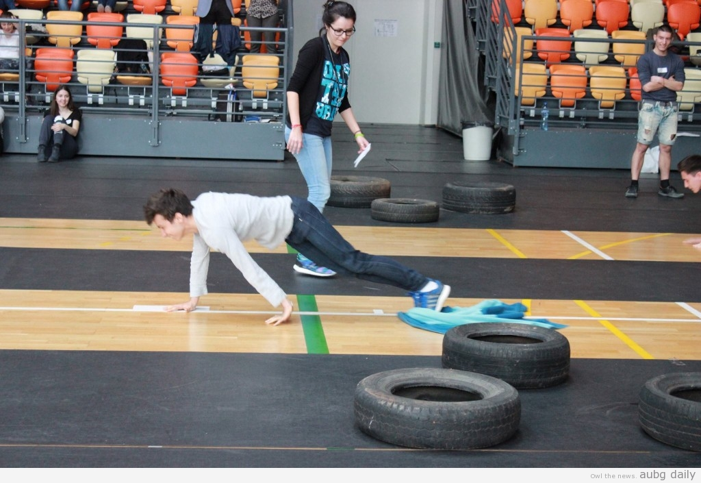 Students competing in the Sports discipline, photo courtesy of the MTQ Photography Team