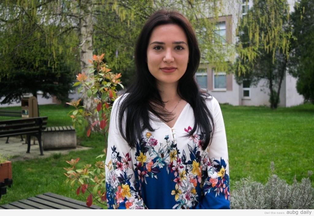 Nevis Veli; Steliyana Yordanova for AUBG Daily