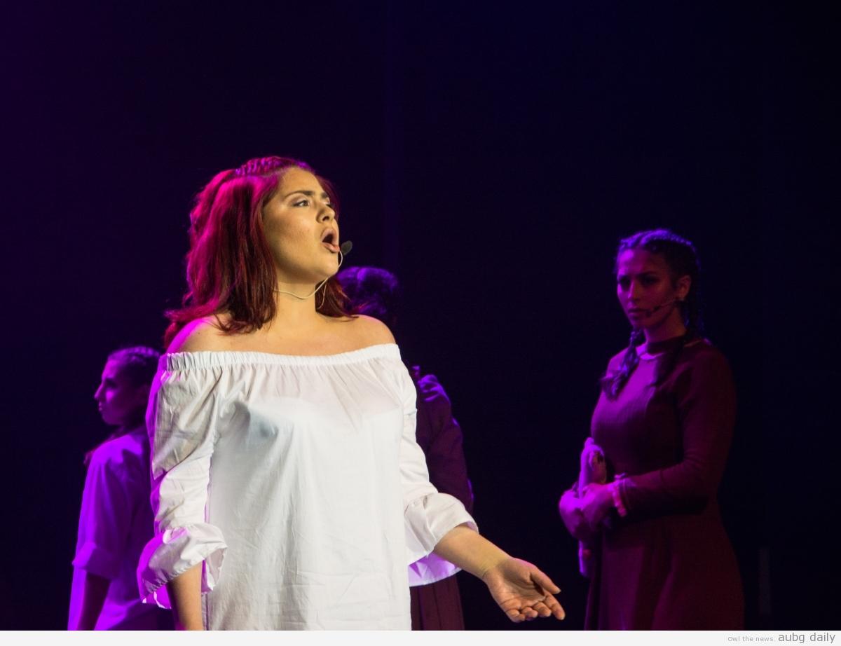Edea Demaliaj in the role of Wendla, Nicola Smilenov for AUBG Daily