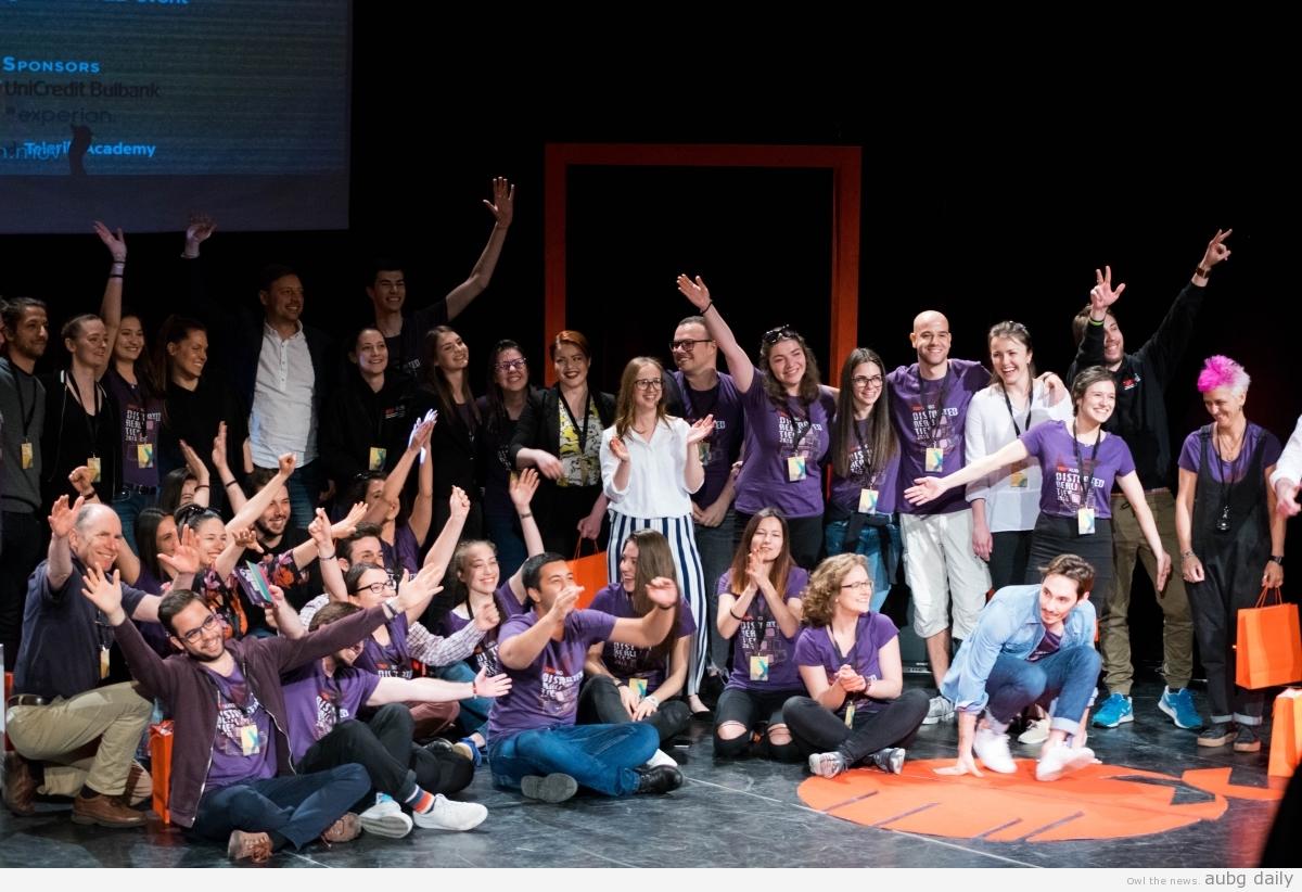 TEDxAUBG team, Steliyana Yordanova for AUBG Daily